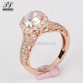 2018 line Shop 24k Gold Dubai Wedding Rings Jewelry Gold Rings
