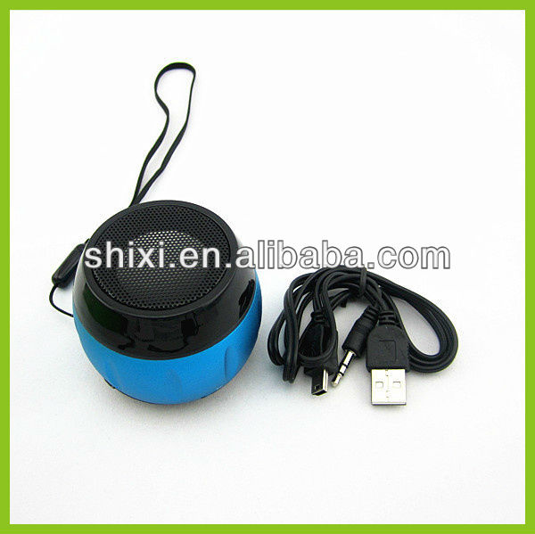 Wholesale new products for 2013- Portable Music MP3 Player TF digital Mini Speaker with FM Radio /with LCD screen