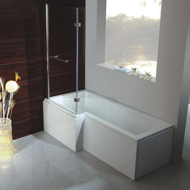 DM1885 Shaoxing Acrylic Bathtub Apron Bathtub/corner Apron Bath Tub  1500 1800mm 4 Sizes