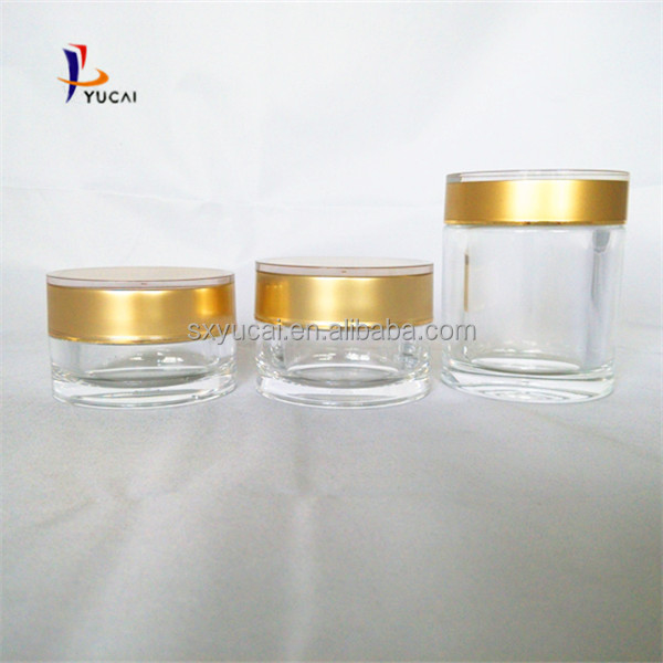 Acrylic Capsula Jar 80ml Acrylic Jar Medicine Bottle Packaging ...