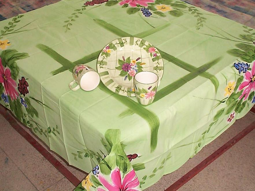 Hand Painted Table Cloth   Buy Table Cloth Product On Alibaba.com