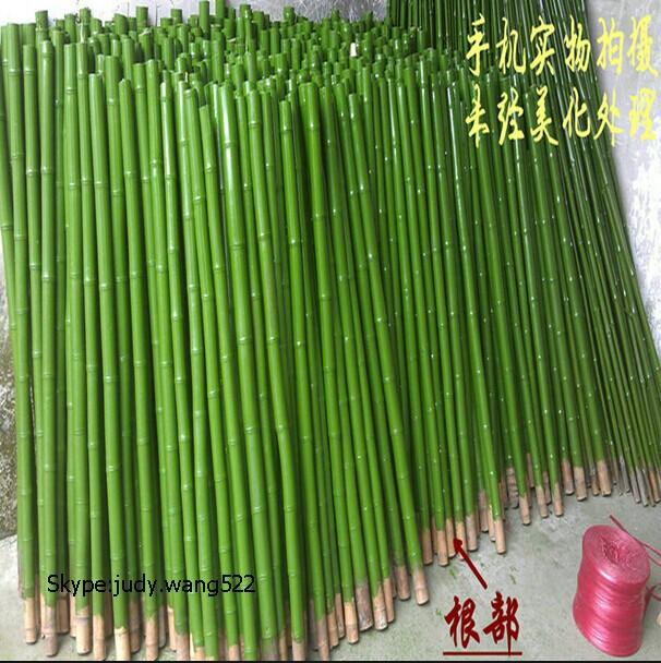 Zwarte kunstmatige bamboe stokken voor bruiloft decoratie
