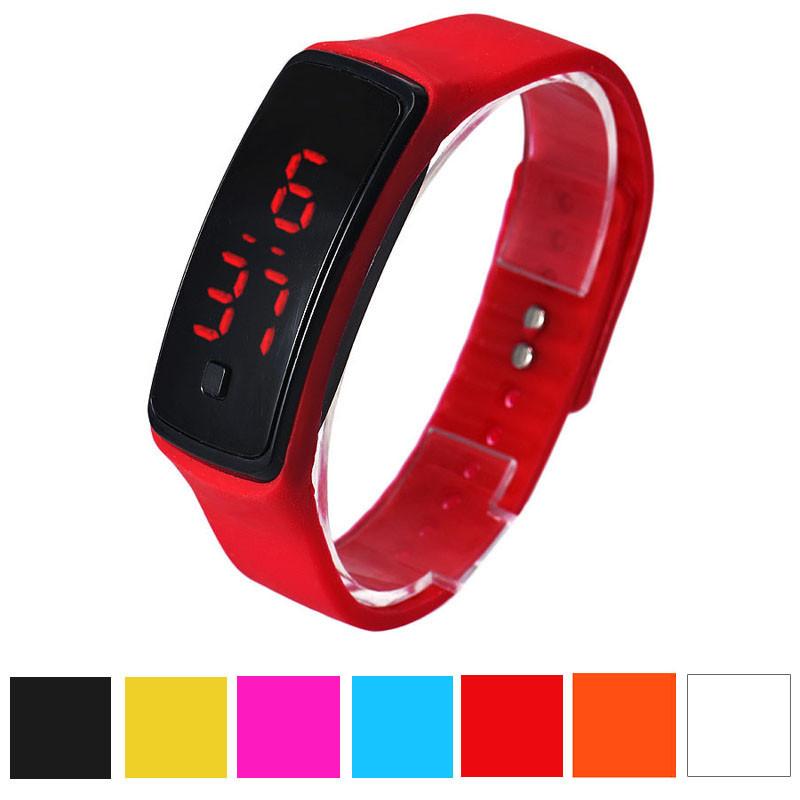 ... hombres del silicón LED Digital reloj de pulsera deportivo.  aeProduct.getSubject() 4f3637339504