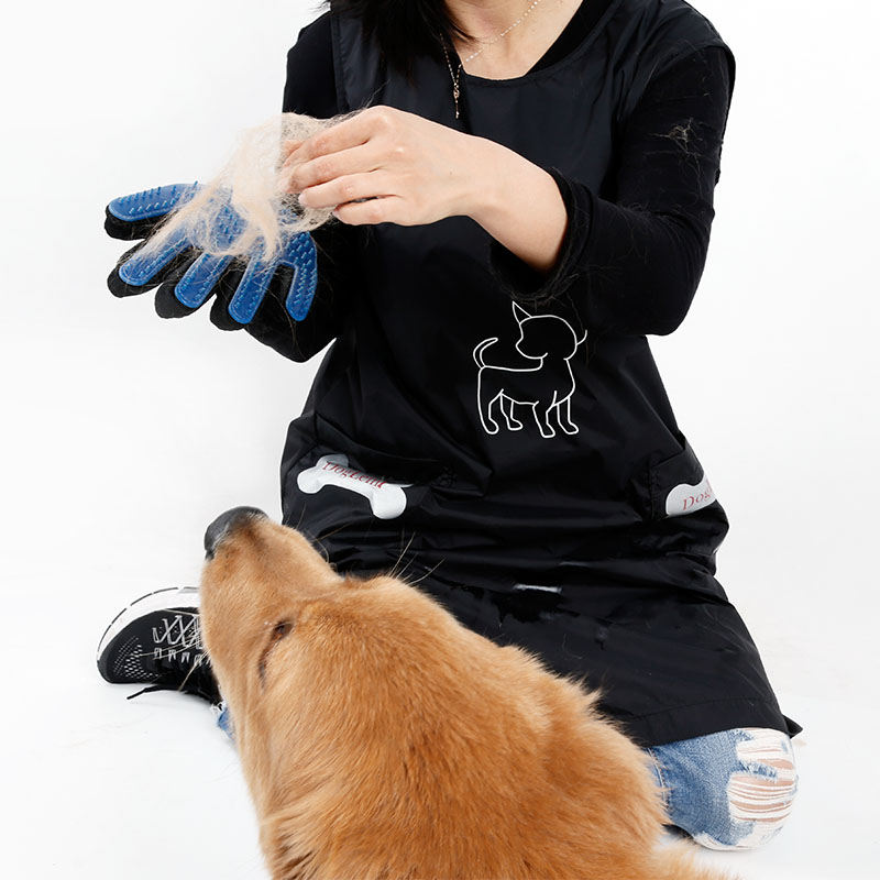 Pet Shedding Brush Hair Remove Cat Dog Glove Grooming Tool