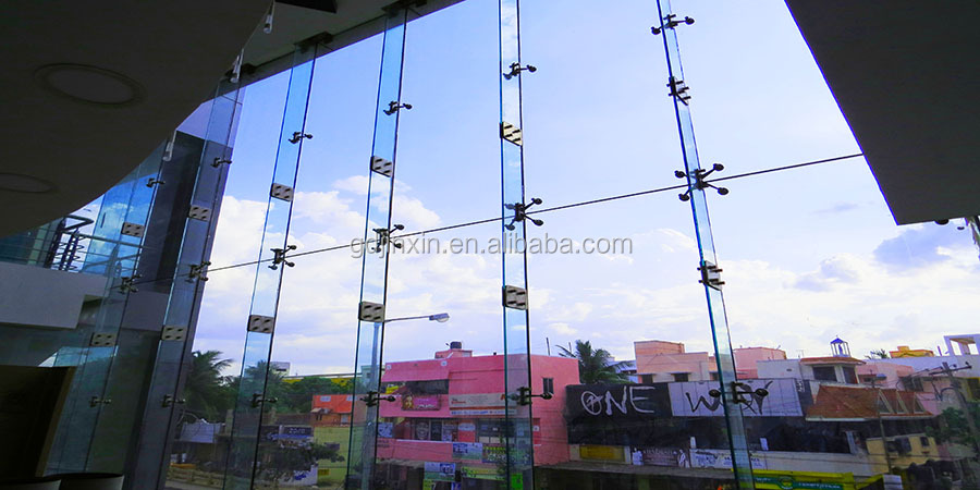 Spider Curtain Wall System : Stainless steel curtain wall spider fitting glass