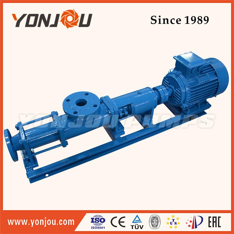 Sand Dredging Pump, Single Screw Pump (Cast Iron, Stainless Steel 304, 316, 316L), Screw Pump for Concrete