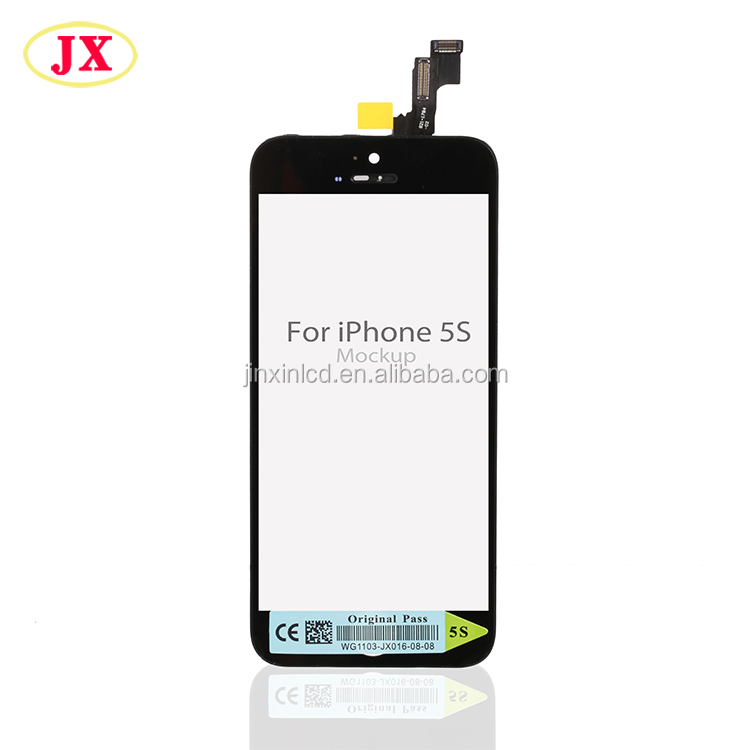 JX LCD Großhandel Alle Handy Marke Lcd Screen Für Iphone 5 s
