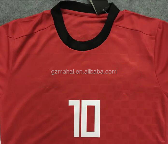 2018 world M.SALAH 10 football jersey top thai quality soccer gear
