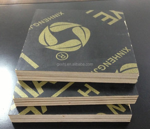 Guangxi low price first grade shuttering plywood