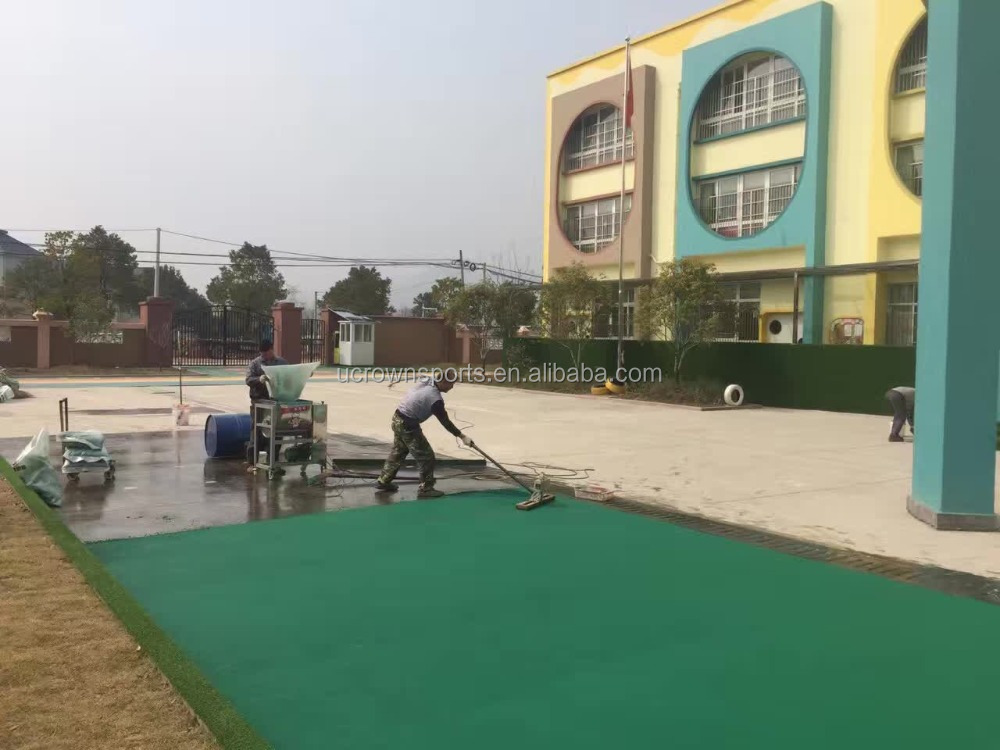 EPDM Rubber Running/ Jogging Track Material, Synthetic Rubber Running Track,Sandwich running track Materia