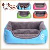 Pet Waterloo pad candy color in autumn and winter warmth square kennel Teddy pet nest dog bed cat litter