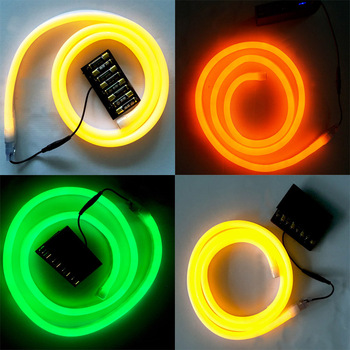christmas home battery operated neon lights