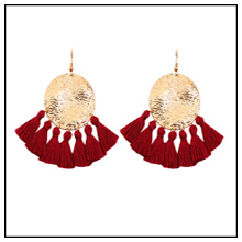 2019 new arrival fashion gold resin acrylic statement making drop dangle earring for women
