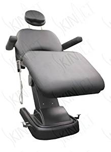 Monet 4 Motor Electric Facial Chair, Facial Massage Bed (Table, Chair) Black