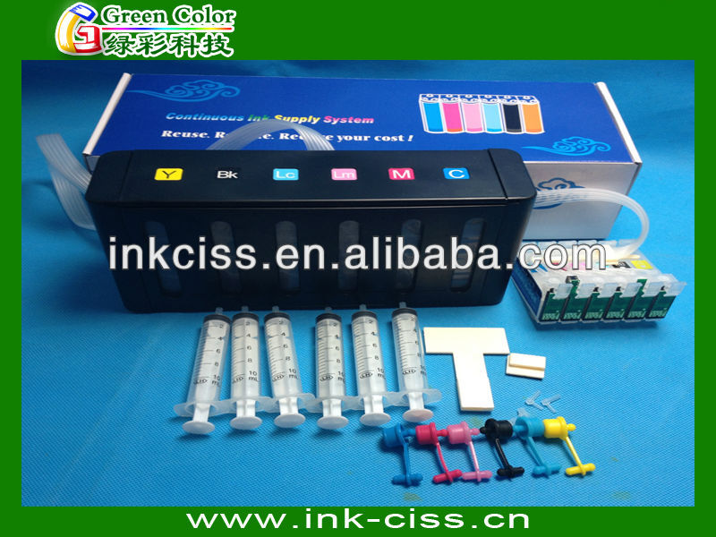 CISS ink system for Epson P50/T50/PX650/PX700W/PX710W with new ciss tank