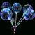 Nieuwe 2019 gift LED latex ballon licht groothandel air ballon party verjaardag business clear ronde transparante bobo ballon