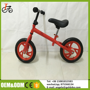 CE approved cool bikes for kids 2-3 years old /Toys indoor bikes for kids / children balance bicycle from handan factory
