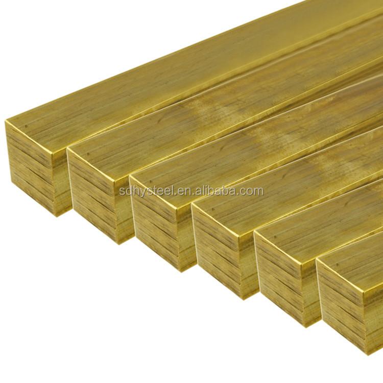 brass hexagonal profile rod bar manufacturer