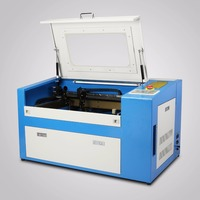 Updated VEVOR 50W CO2 Laser Engraving Cutting Machine with Auxiliary Rotary Device High Quality High Speed High Precision