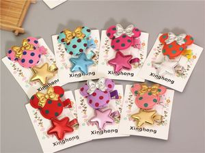 cartoon mouse kids girls hair accessories for children hair ornaments bows clips