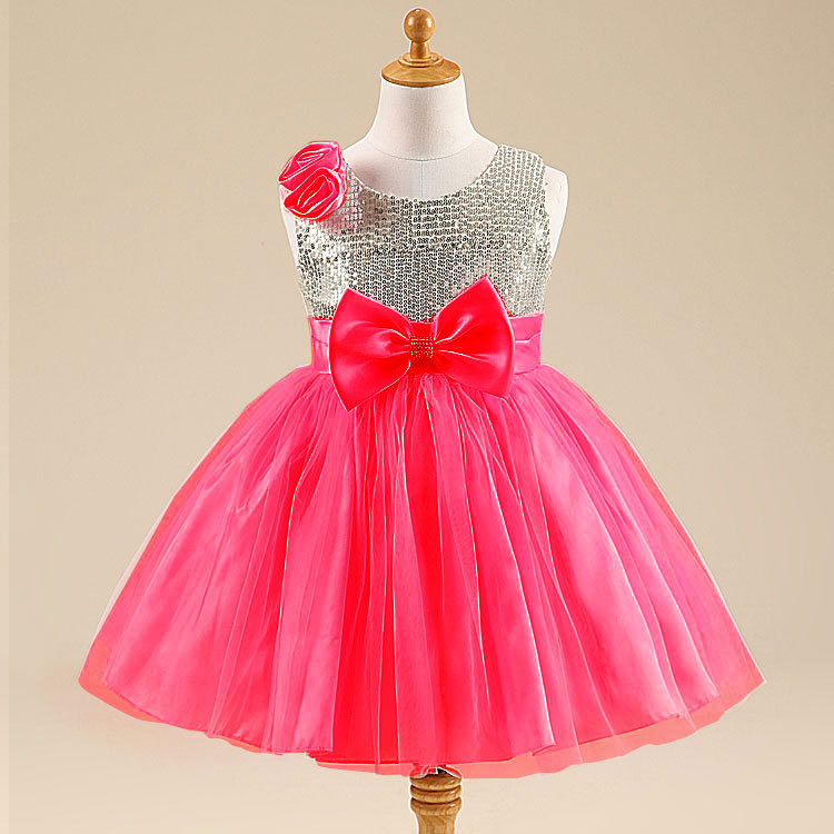 Wholesale Kids Wedding Clothes Fashion Lace Dress For 2 To 8 Years Old Tutu