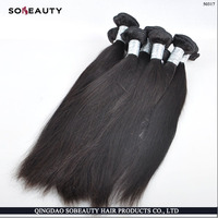 Large Stock 7 Texture No Shedding No Tangle Human Hair weave hair african american course