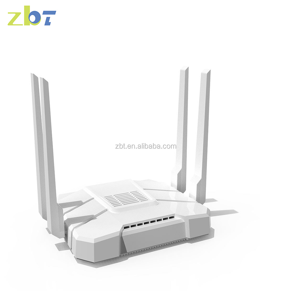 OEM ZBT 16MB 512MB openWRT bonding router 4g with USB SD SIM port