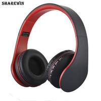 LH-811 Wireless Headphones Stereo Headset With MP3 player FM Radio Music