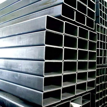 Hot selling hollow section welded black square steel tubing