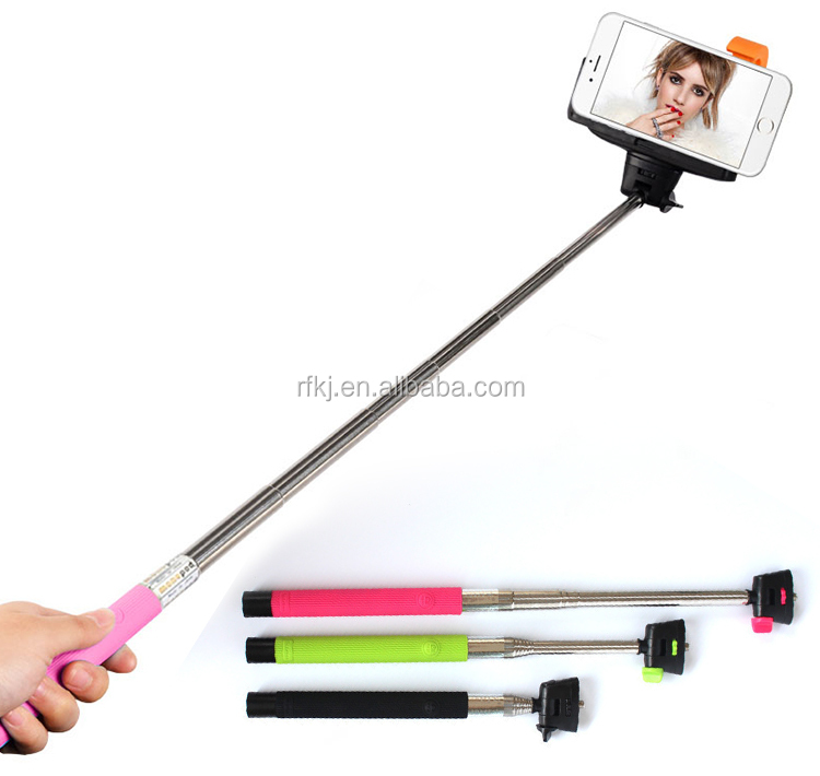 z07 5 plus monopod cable take pole selfie stick extendable hand held wired monopod selfie stick. Black Bedroom Furniture Sets. Home Design Ideas