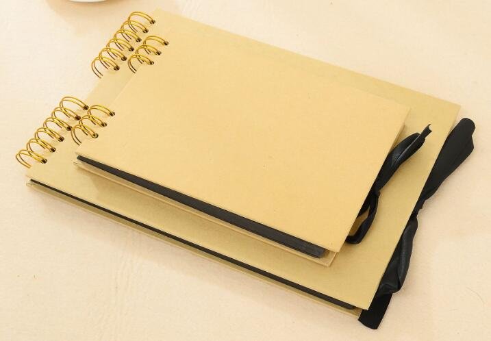 PROMO Custom Environmental Kraft Paper DIY Scrapbook Photo Album
