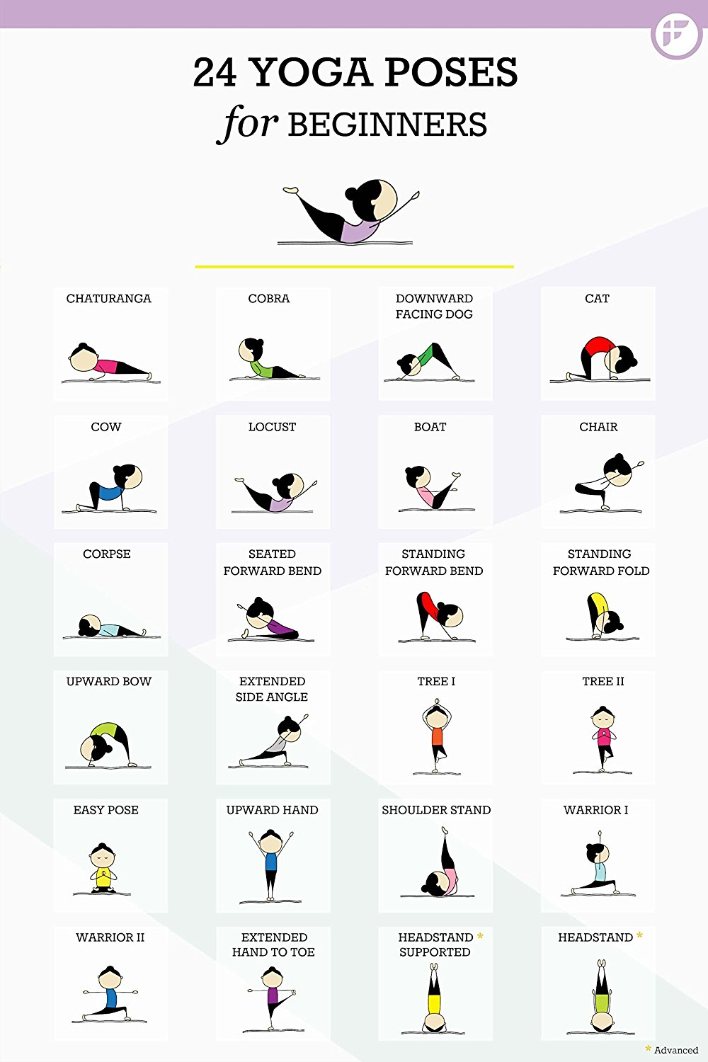 Fitwirrs 24 Yoga Poses For Beginners