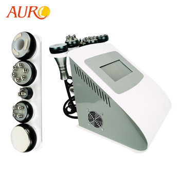 Christmas Promotion!! AU-61 multifunction rf vacuum cavitation system 5 in 1 beauty machine