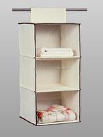 3 shelf hanging closet organizer