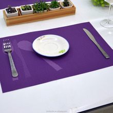 China factory cheap modern pvc placemat/pvc table mat/placemat pvc