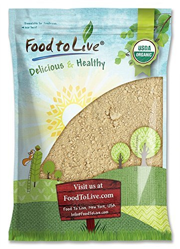 Organic Red Maca Powder by Food to Live (Raw Ground Maca Root, Non-GMO, Kosher, Fine Flour, Bulk) — 4 Pounds