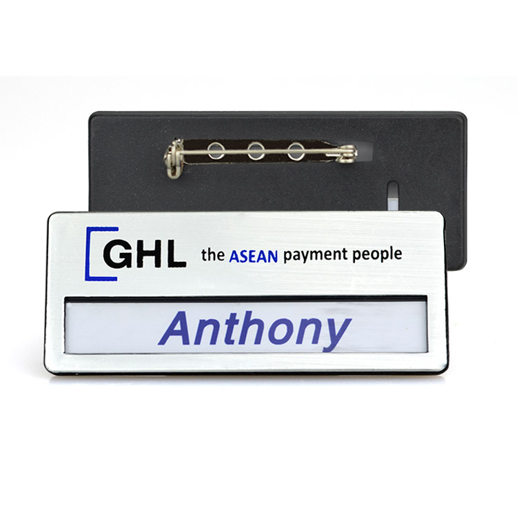 Artigifts Factory Direct Sales Printed Plastic Magnetic Name Badges