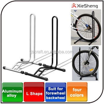 Wholesale Bicycle Packing Rack Storage L Dhape Aluminium Alloy Display Bike  Floor Stand For Cycling