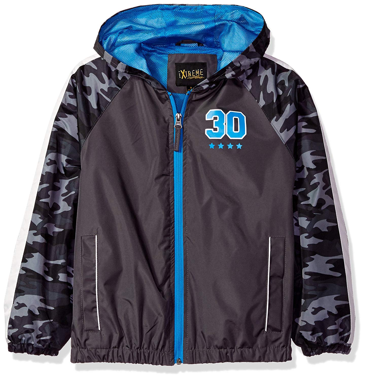 iXtreme Big Boys' Camo Jacket W/Mesh Lining