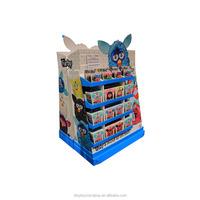Supermarket promotion cardboard large display pallet for book