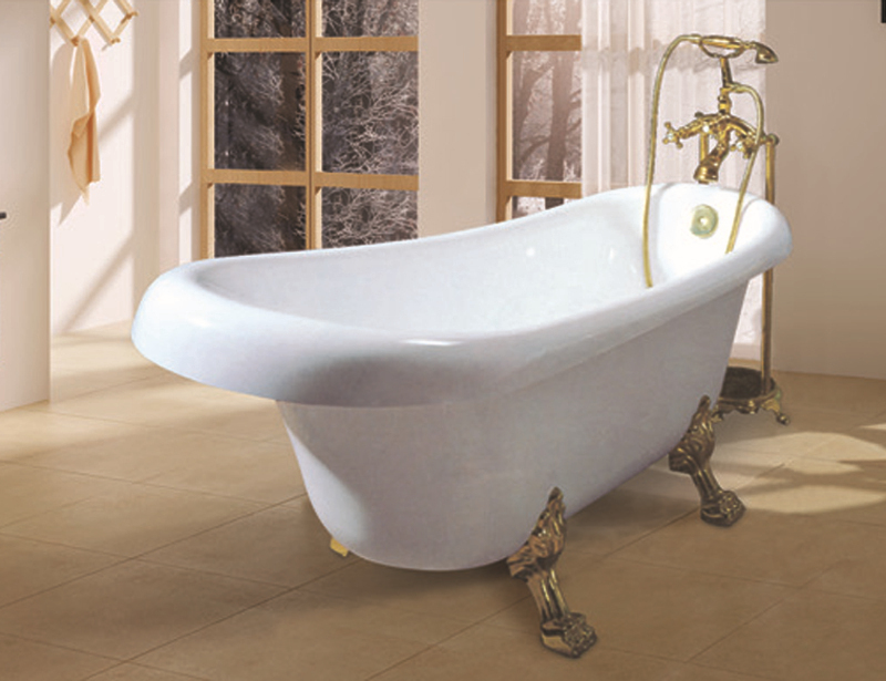 HS-B017aX Acrylic red freestanding bathtub/clawfoot tubs prices
