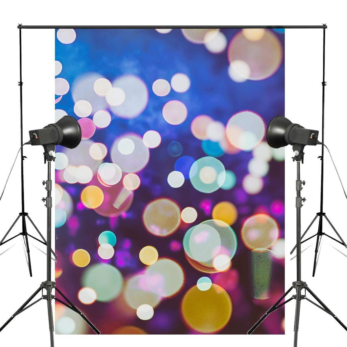 ERTIANANG 5x7ft Colorful Bubble Photography Backdrop Light Background Children Photo Studio Wall Bedroom Backdrop