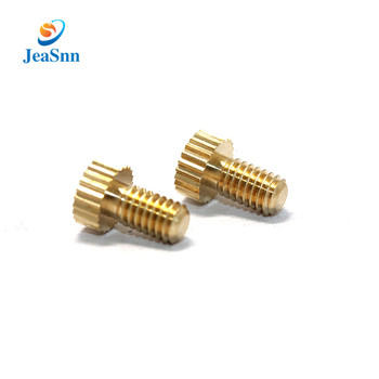 China Supplier Wholesale Brass Thumb Screw Decorative Metal Screws