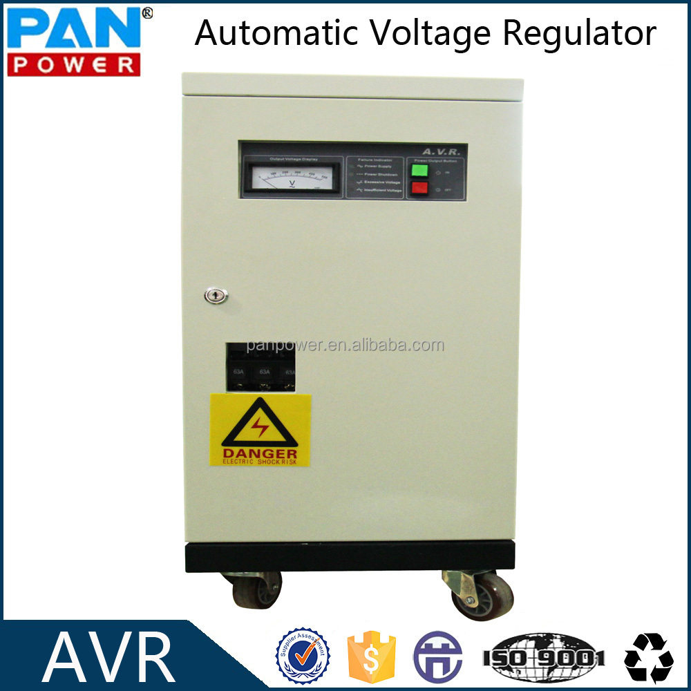 30kva 3 phase industrial automatic voltage stabilizer