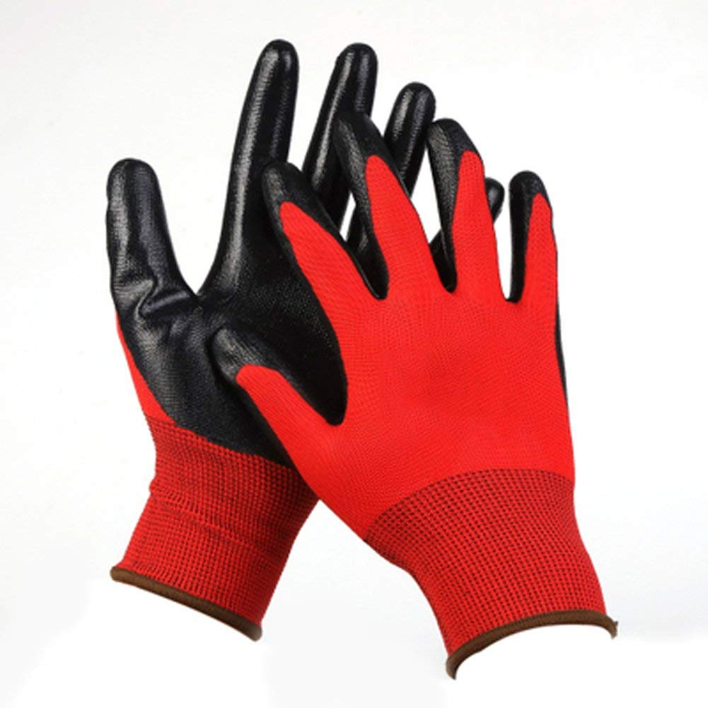TIANFENG Wear-Resistant Waterproof Gloves/Anti-Skid Anti-Slip Anti-Cut Work Gloves