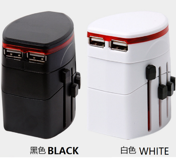 good price hp slim travel power adapter with two USB port charger