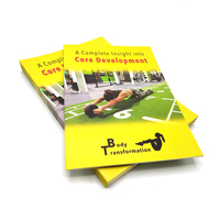 China cheap custom design instruction manual / product brochure / advertising flyer printing