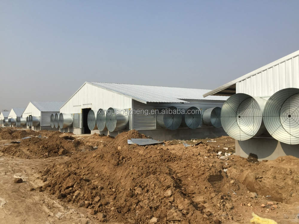 fast install hot galvanization steel plant