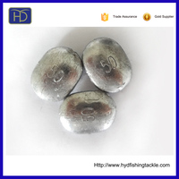 Factory Direct Sale HYD-ML-0011 Lead Sinkers For Fishing