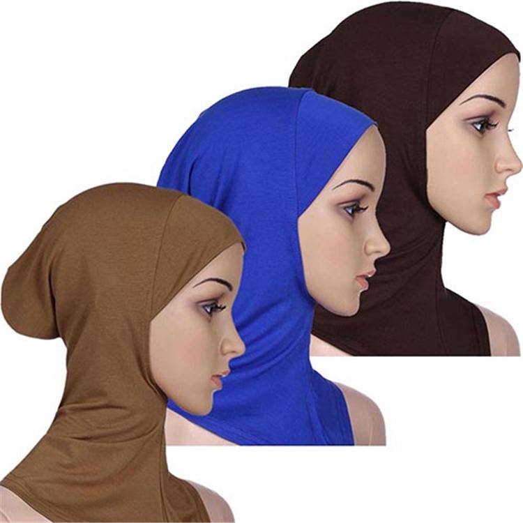 Mulheres Top Vendendo Por Atacado Modelo de Tubo Muçulmano Hijab Inner Caps